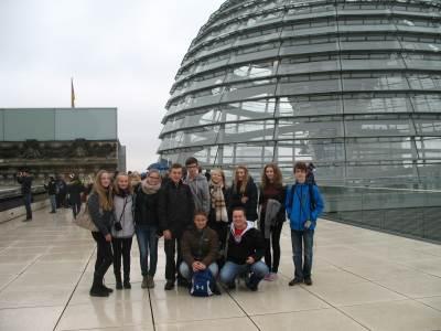 Studenti Kvarty na Jazykovém pobytu v Berlíně